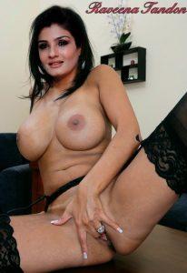 Raveena Tandon ki milf figure wale nude pics